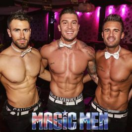 Topless Waiters Abs