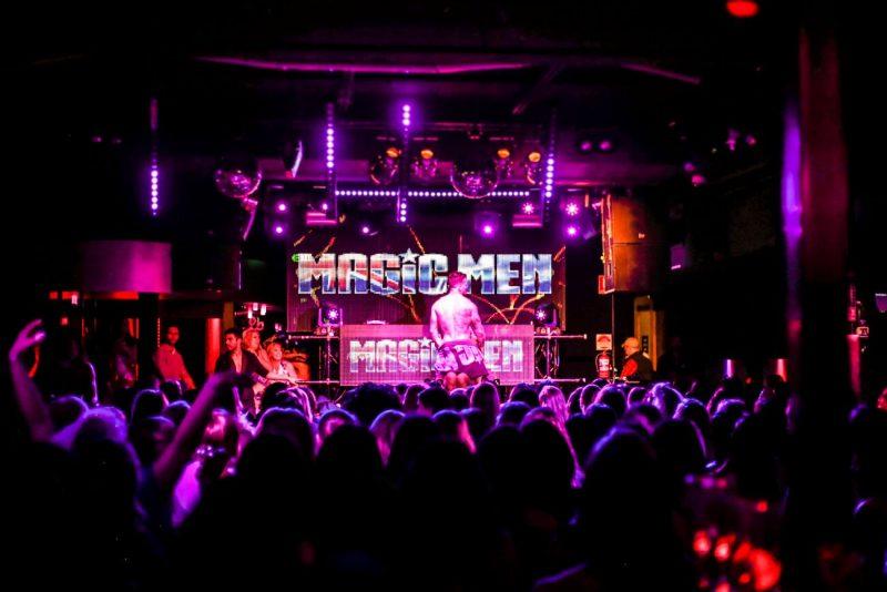 Magic Men Stripper Seven Nightclub Stage