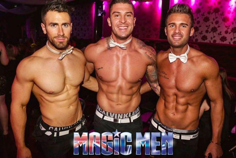 male strip club topless waiters
